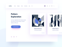 Pattern web concept