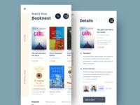 Book app | home screen