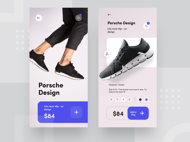 Sneaker she porsche nice100 dribbble banner e commerce blue shoes mobile ps logo design iphone sudhan app adidas nike sneaker
