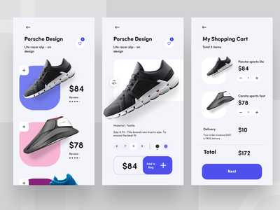 e commerce app exploration porch shopping ecommerce nike air max dribbbble mobile ps iphone nike running carts shoe nike app branding ui typography design web sudhan illustration