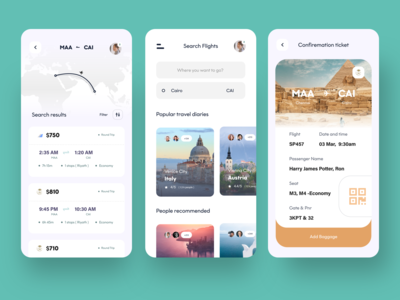 travel app experience