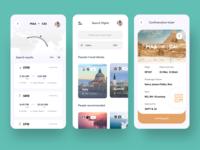 travel app experience