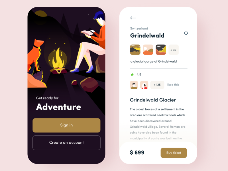 Travel app concept price heart travel website nation grindelwals orizon sudhan travel app logo nice100 branding she typography ps iphone web design mobile illustration travel