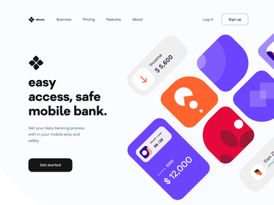 Bank_website_concept accessories photoshop blue orizon banking app transaction online price bank design ps ios she branding typography iphone web mobile sudhan illustration