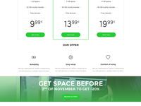 Hosting - Pricing