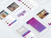 Fitness App Concept UI kit