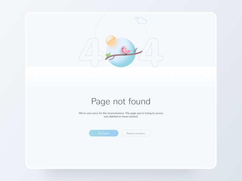 SignLab 404 dribbbleweeklywarmup 404 page 404 webdesign minimal ux ui