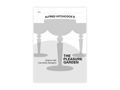 The Pleasure Garden - Movie poster