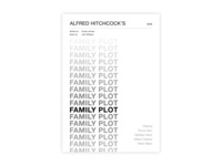 Family Plot - Movie poster