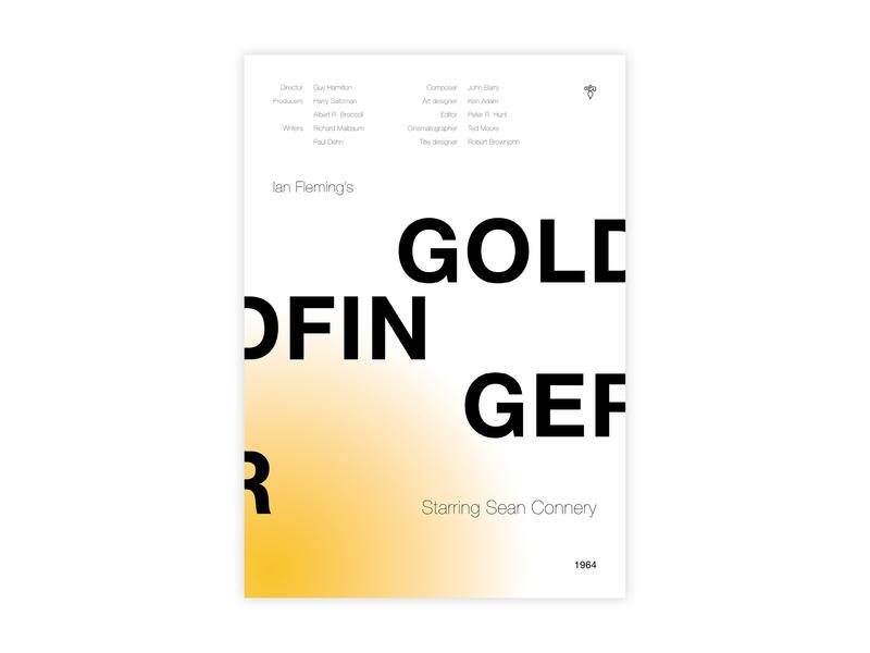 Goldfinger - Movie poster