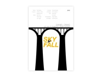 Skyfall - Movie posters