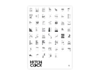 Poster Hitchcock - All movies