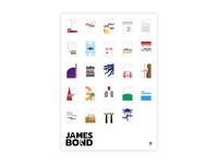 James Bond - All movie posters
