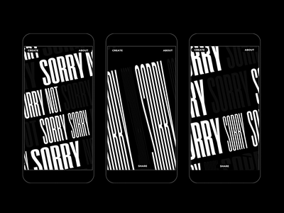 Variable Type Exploration mobile ui mobile uidesigner type animation uidesign ui webdesign website variable variable fonts web typography art typography