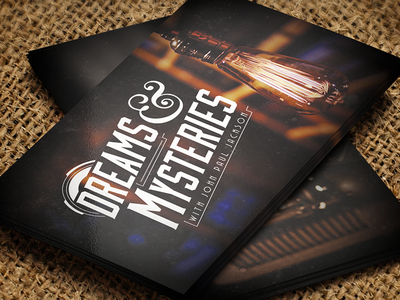 Dreams & Mysteries Business Cards dreams mysteries business cards