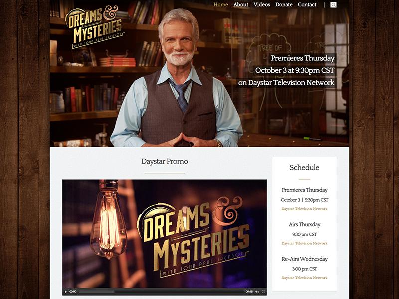 Dreams & Mysteries Website dreams mysteries website