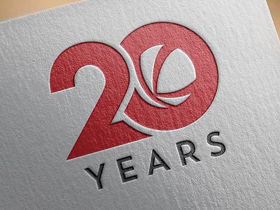 Kalkomey 20th Anniversary logo logo