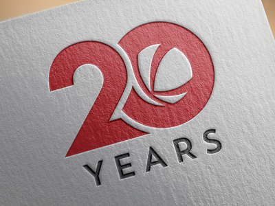 Kalkomey 20th Anniversary logo