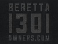 Beretta 1301 Owners logo