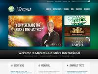 Streams Ministries Website v.2 Update