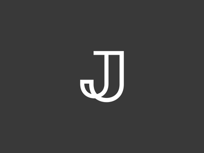 J Monogram design custom logo monogram j