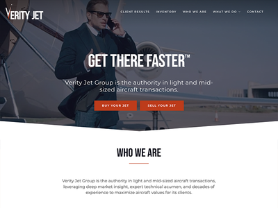 Verity Jet web