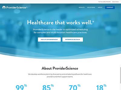 Provider Science web