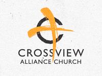 Crossview logo concept