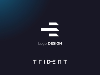 Trident Suisse - Logo & Website Redesign icon typography vector figma graphic design typeface mark technology it bold clean tech identity design identity branding modern logotype logodesign logo