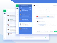 Email App - Email Inbox - Concept