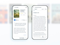 Social book reading and share app - V1 Concept