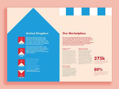Bupa Corporate Newsletter illustration corporate newsletter typesetting print