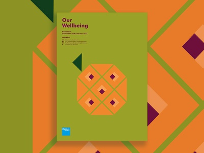 Bupa Corporate Newsletter - Winter Edition illustration corporate newsletter typesetting print