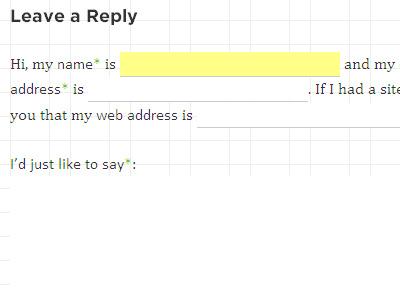 HarryRoberts.co.uk comments grid baseline typography form