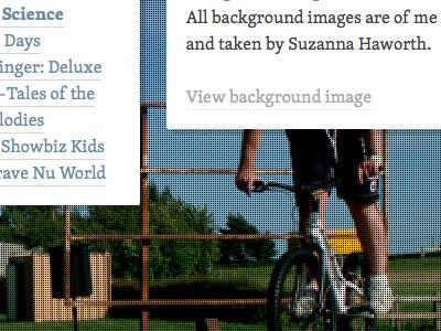 Hub II typography web css3 responsive web design hub micro-site