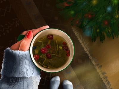 Holidays time christmas holidays illustration procreateapp