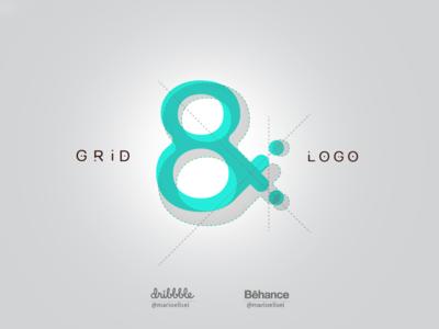 GRID & LOGO - Collection icon grid typography grid design grid construction branding logo golden ratio fibonacci branding and identity