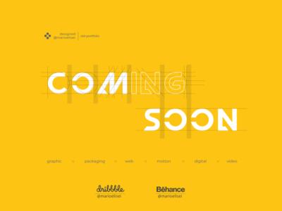 COMING SOON... WAIT icon typography fibonacci logo branding branding and identity golden ratio grid design design graphic  design