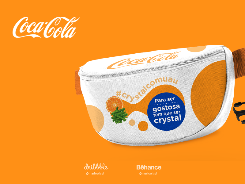 Women's Fanny Packs - Coca Cola campaigns campaign design present typography design vector adobe photoshop adobe illustrator illustration graphic  design