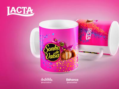 Ceramic Mug MKT- Lacta Chocolate