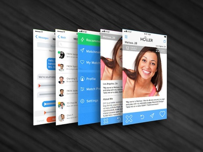 Dating App Concept app concept flat ios7 iphone tinder dating app ios 7 iphone 5 iphone 5s iphone 5c iphone app