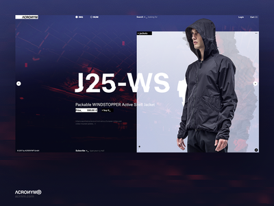 Acronym®. Main page. Concept.