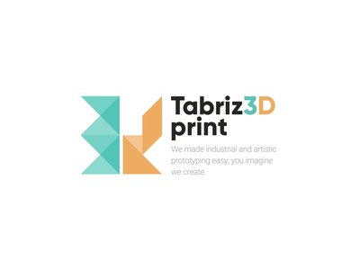 3D Logo 3d design abstraction 3d logo 3d logodesign iran concept design minimal vector flat branding logo illustration