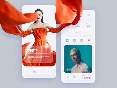 Models social app mobile ui xd illustraion ui ux flat fashion models icon iran concept app app ui uxdesign uidesign ux design ux ui design uiux soft ui ui