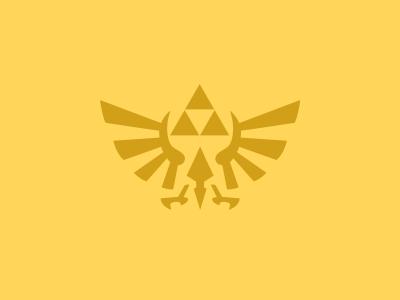 Hylian Crest Icon legend wild breath minimal mx article design icon crest link hylian zelda