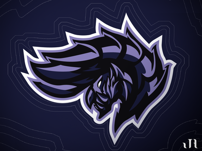 Alatreon Mascot Logo illustration mascot logos esports mascot logo logo design logo