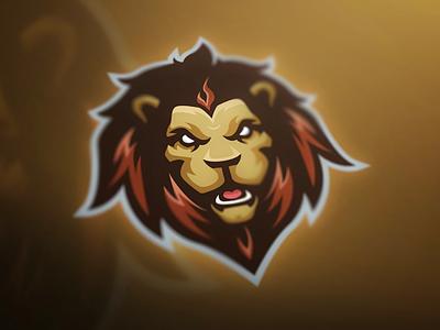 Premade Lion Mascot Logo aggressive lion brand esports branding mascot design logo design logo mascot logo mascot