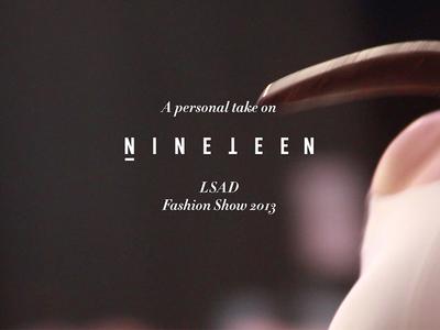 LSAD Fashion Show Video Still