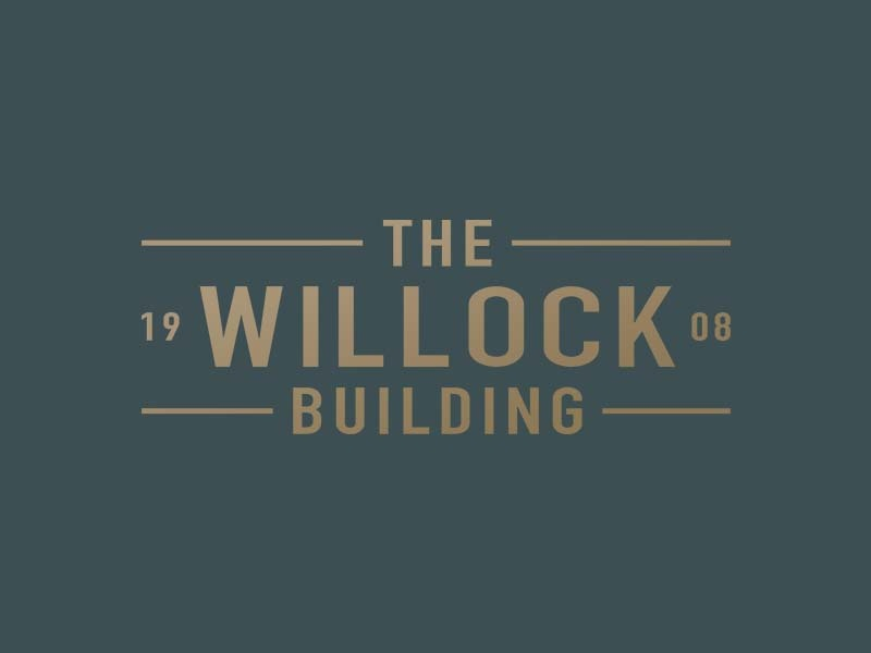 The Willock Building identity branding vector jpd graphic design kentucky logo design