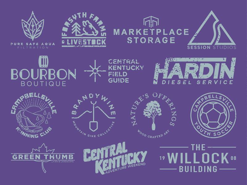 2018 Review badge illustration identity vector jpd graphic design kentucky branding logo design